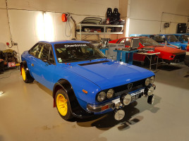 Construction Lancia Beta Groupe 4